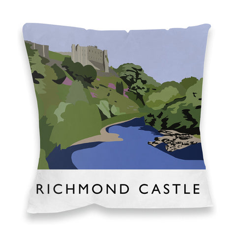 Richmond Castle, Yorkshire Fibre Filled Cushion