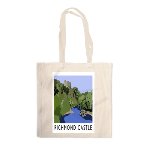 Richmond Castle, Yorkshire Canvas Tote Bag