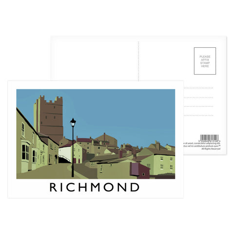Richmond, Yorkshire Postcard Pack