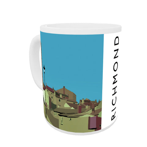 Richmond, Yorkshire Coloured Insert Mug