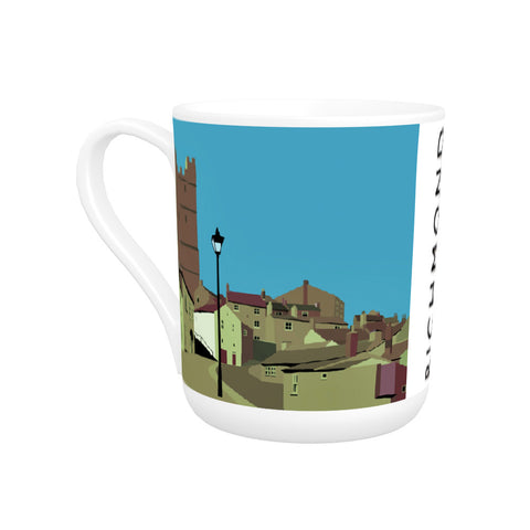 Richmond, Yorkshire Bone China Mug