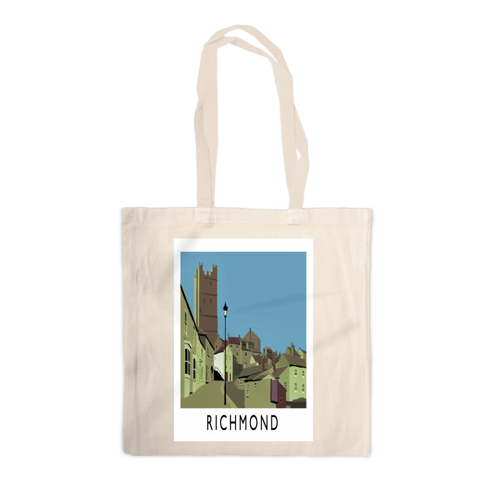 Richmond, Yorkshire Canvas Tote Bag