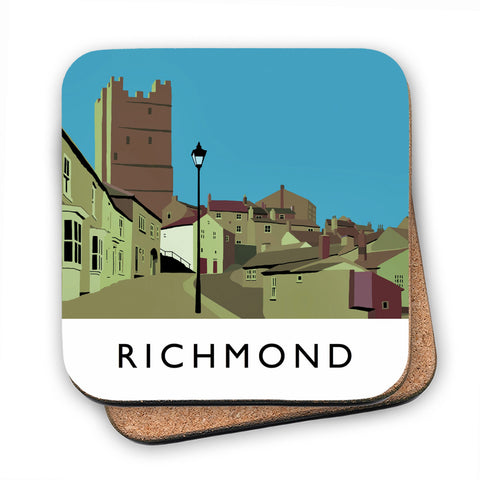 Richmond, Yorkshire MDF Coaster