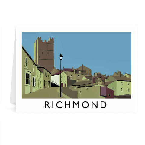 Richmond, Yorkshire Greeting Card 7x5