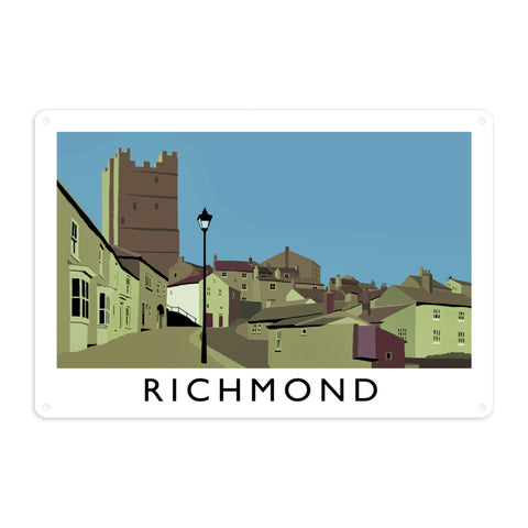 Richmond, Yorkshire Metal Sign