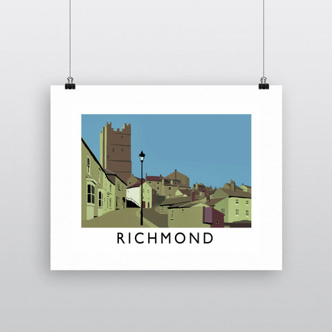 Richmond, Yorkshire Fine Art Print