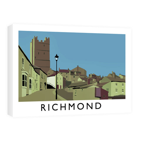 Richmond, Yorkshire Canvas