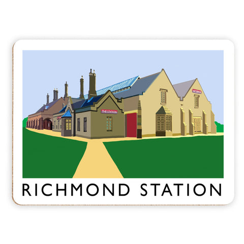 Richmond Station, Yorkshire Placemat