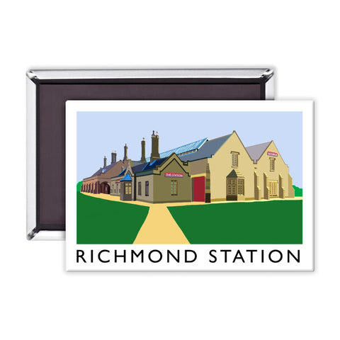 Richmond Station, Yorkshire Magnet