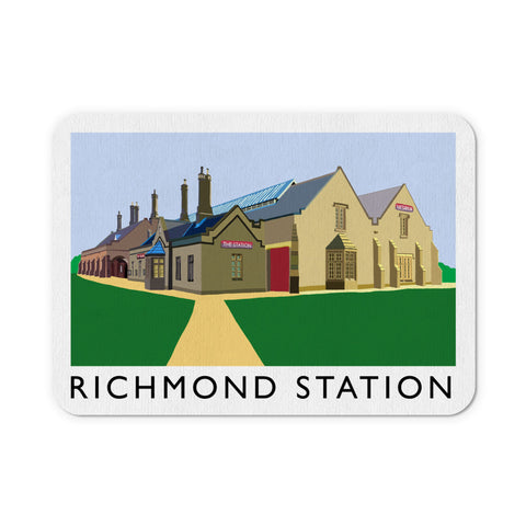 Richmond Station, Yorkshire Mouse Mat