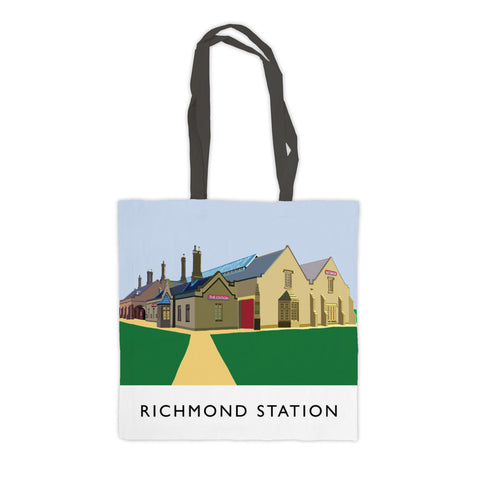Richmond Station, Yorkshire Premium Tote Bag