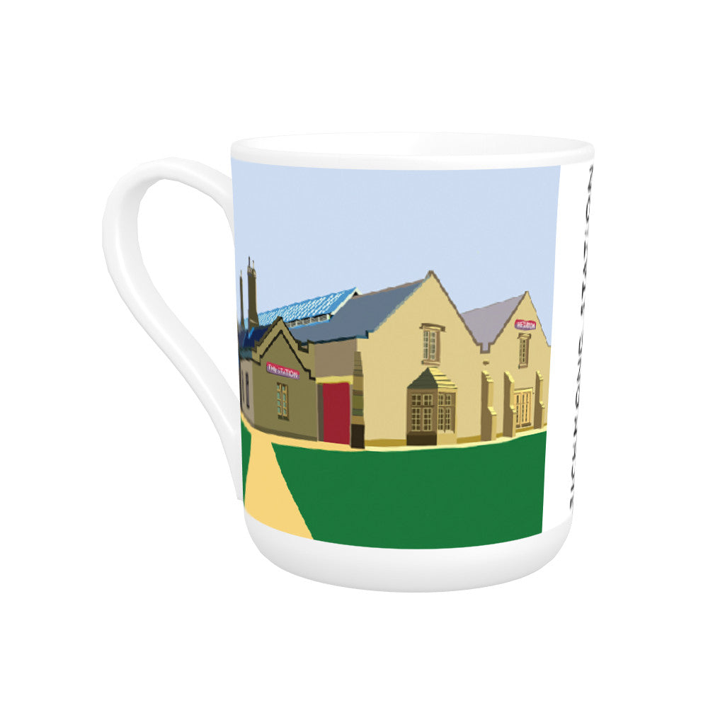 Richmond Station, Yorkshire Bone China Mug