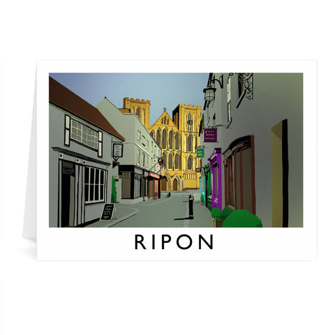 Ripon, Yorkshire Greeting Card 7x5