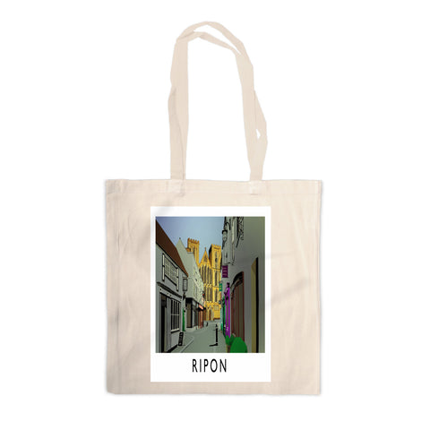 Ripon, Yorkshire Canvas Tote Bag