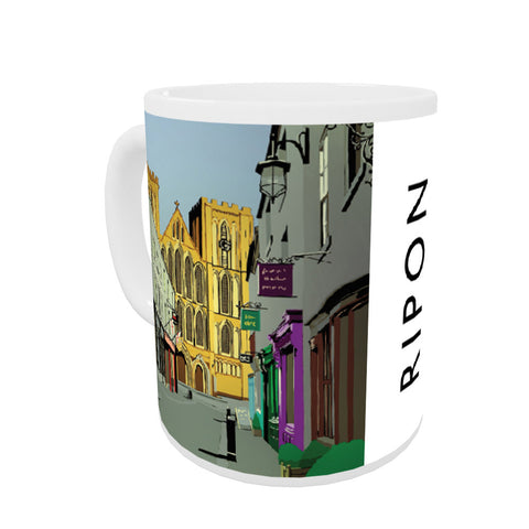 Ripon, Yorkshire Coloured Insert Mug