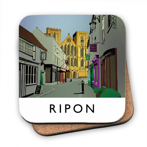 Ripon, Yorkshire MDF Coaster