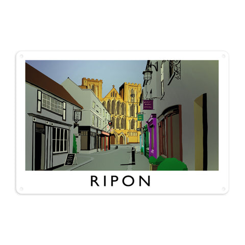 Ripon, Yorkshire Metal Sign