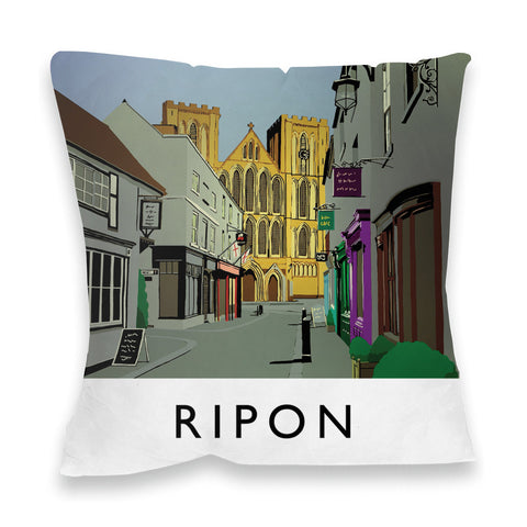 Ripon, Yorkshire Fibre Filled Cushion