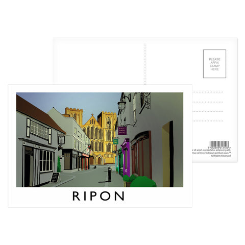 Ripon, Yorkshire Postcard Pack