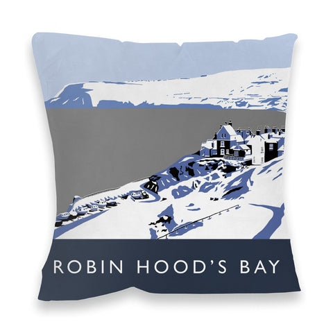 Robin Hoods Bay, Yorkshire Fibre Filled Cushion