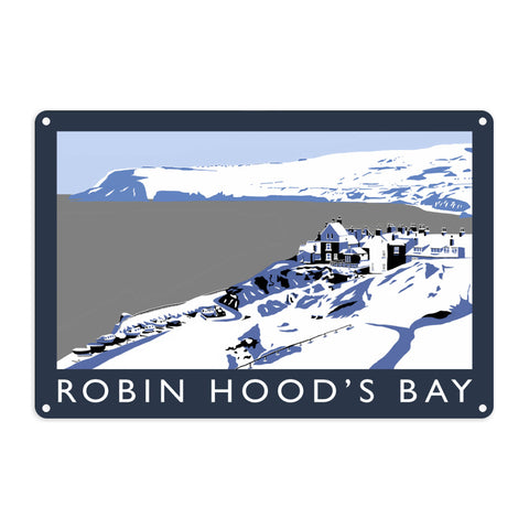 Robin Hoods Bay, Yorkshire Metal Sign