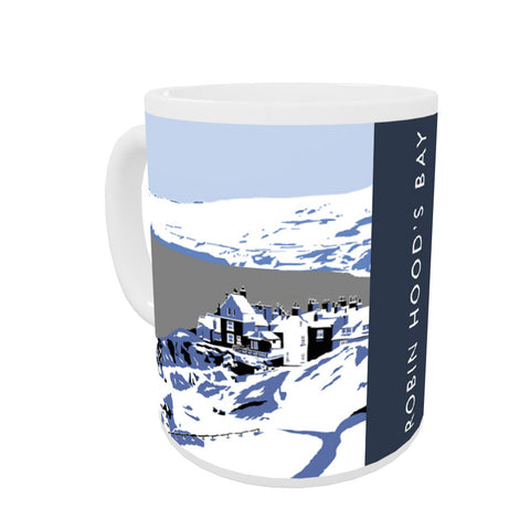 Robin Hoods Bay, Yorkshire Coloured Insert Mug