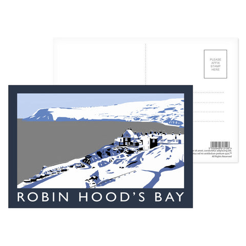 Robin Hoods Bay, Yorkshire Postcard Pack