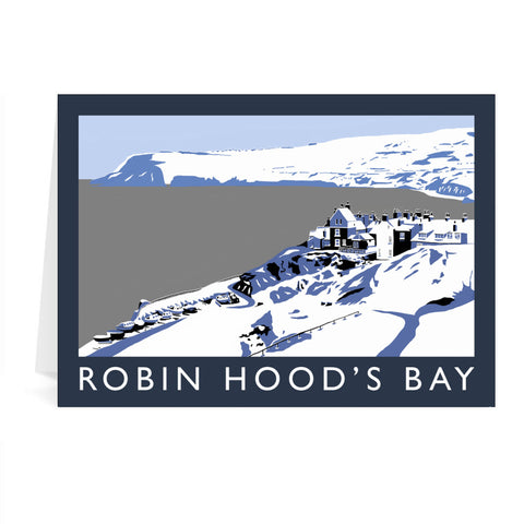 Robin Hoods Bay, Yorkshire Greeting Card 7x5