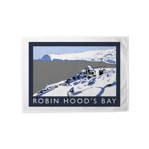 Robin Hoods Bay, Yorkshire Tea Towel