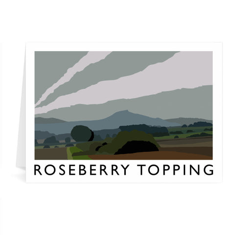 Roseberry Topping, Yorkshire Greeting Card 7x5
