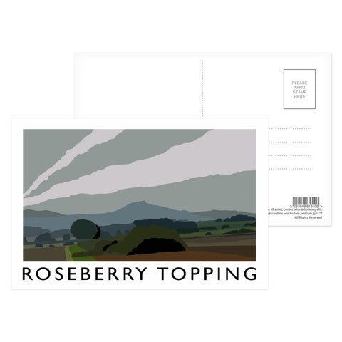 Roseberry Topping, Yorkshire Postcard Pack