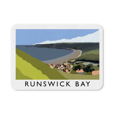 Runswick Bay, Yorkshire Mouse Mat