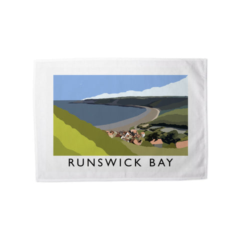 Runswick Bay, Yorkshire Tea Towel