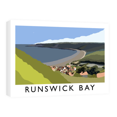 Runswick Bay, Yorkshire Canvas
