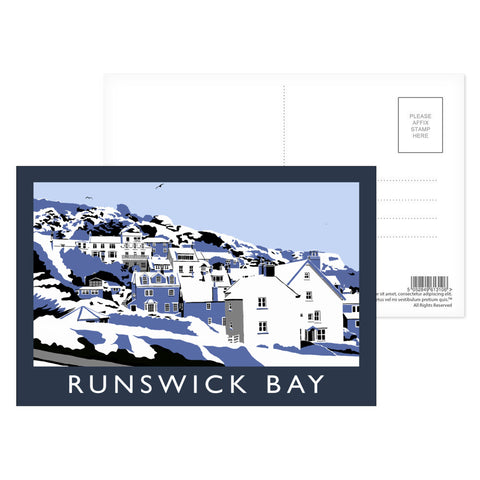 Runswick Bay, Yorkshire Postcard Pack