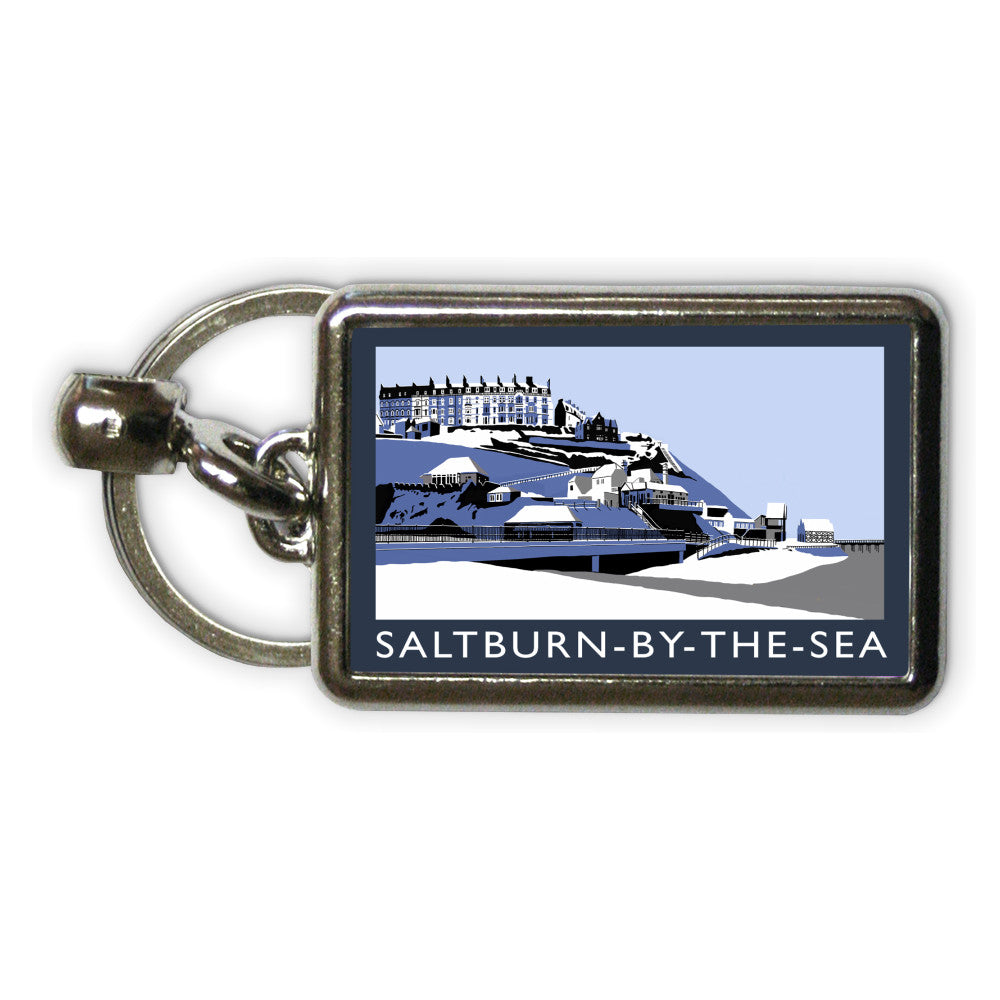 Saltburn-By-The-Sea, Yorkshire Metal Keyring