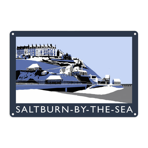 Saltburn-By-The-Sea, Yorkshire Metal Sign