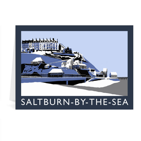 Saltburn-By-The-Sea, Yorkshire Greeting Card 7x5