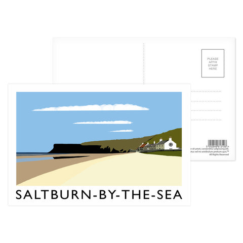 Saltburn-By-The-Sea, Yorkshire Postcard Pack