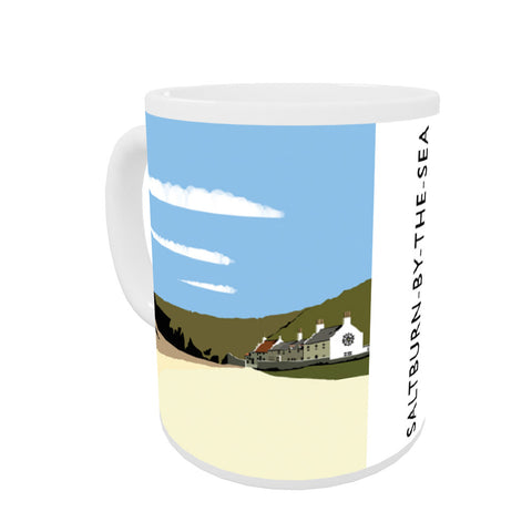 Saltburn-By-The-Sea, Yorkshire Coloured Insert Mug