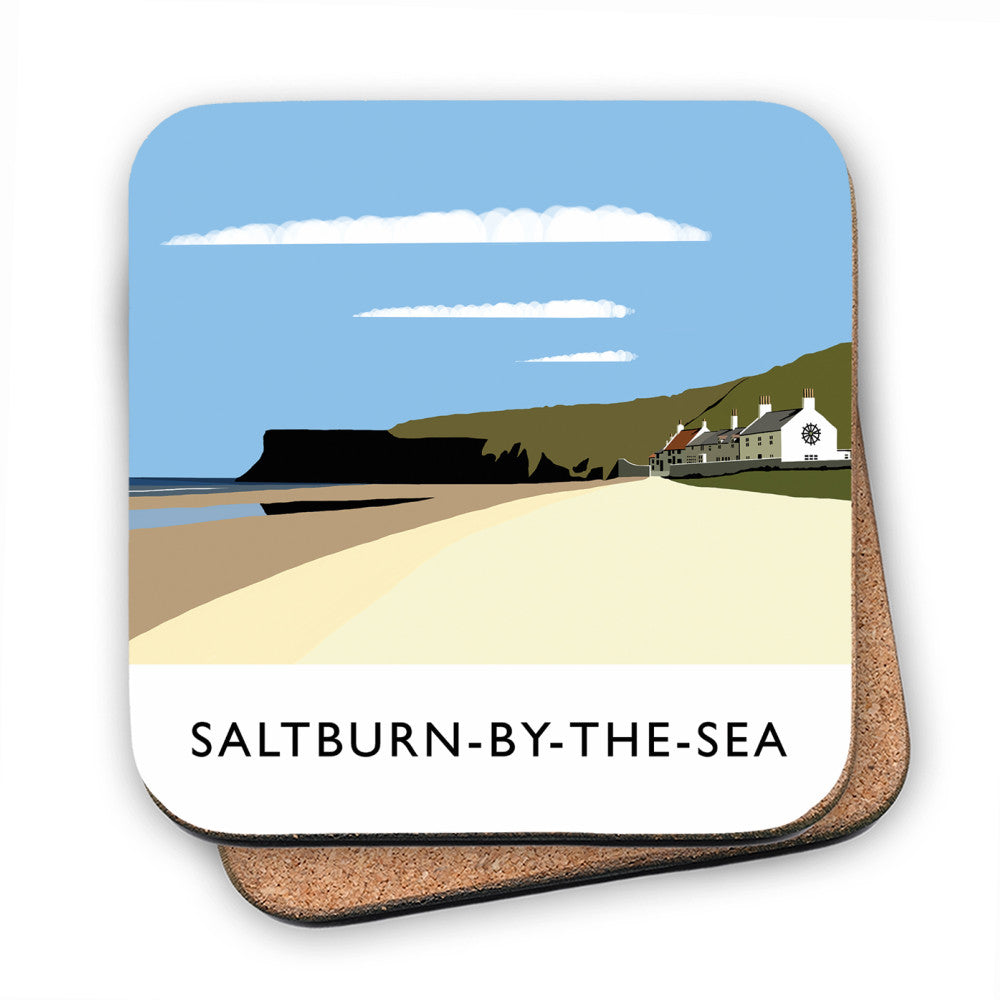 Saltburn-By-The-Sea, Yorkshire MDF Coaster