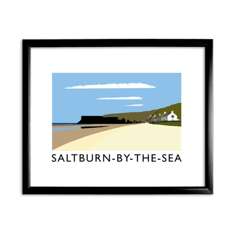 Saltburn-By-The-Sea, Yorkshire 11x14 Framed Print (Black)