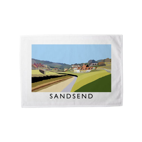 Sandsend, Yorkshire Tea Towel
