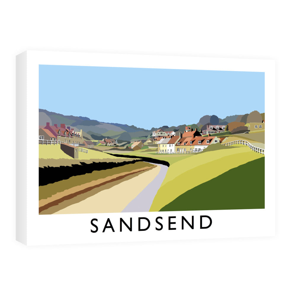 Sandsend, Yorkshire Canvas