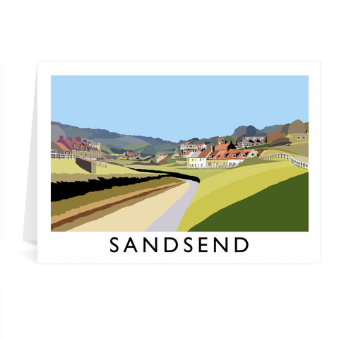 Sandsend, Yorkshire Greeting Card 7x5