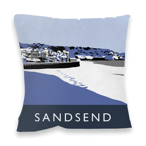 Sandsend, Yorkshire Fibre Filled Cushion