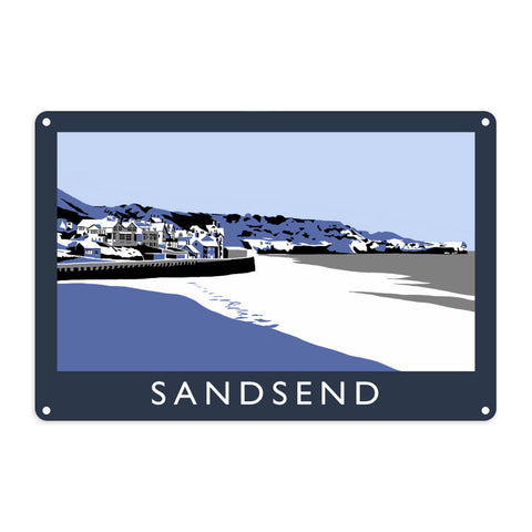 Sandsend, Yorkshire Metal Sign