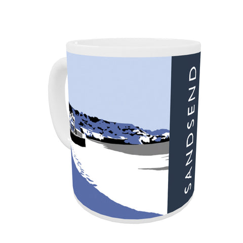 Sandsend, Yorkshire Coloured Insert Mug