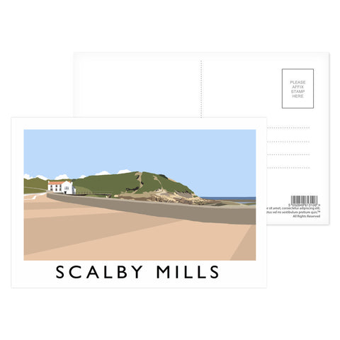 Scalby Mills, Yorkshire Postcard Pack