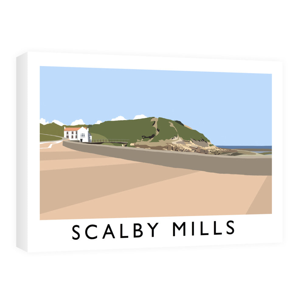 Scalby Mills, Yorkshire Canvas